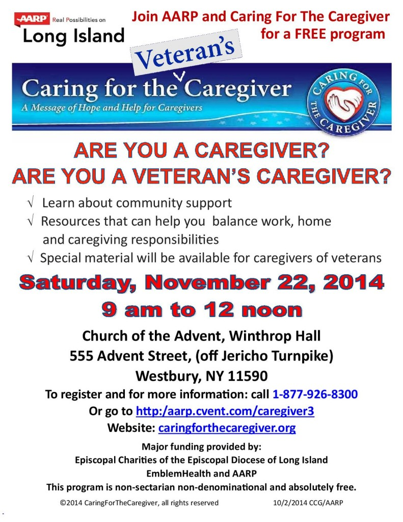 November 22 Caregiver Fair